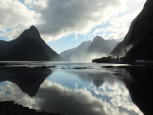 Milford Sound moods